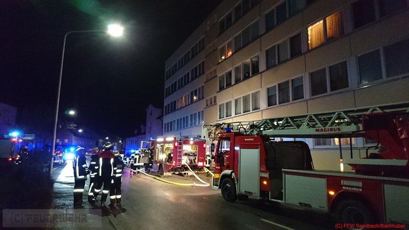 Brandeinsatz vom 25.12.2016  |  (C) Feuerwehr Sandbach / Bachhuber (2016)