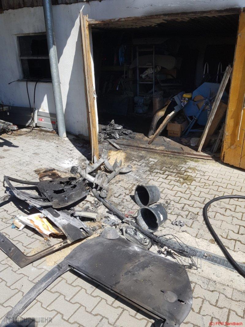 Brandeinsatz vom 18.04.2019     (C) Feuerwehr Sandbach / Bachhuber (2019)